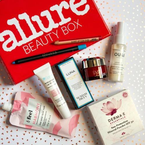 Allure Beauty Makeup Subscription Box