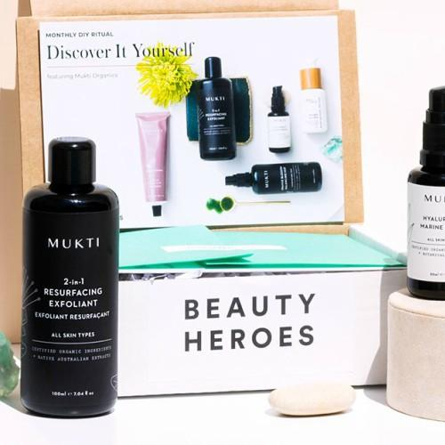 Beauty Heroes Skin Care Subscription Box