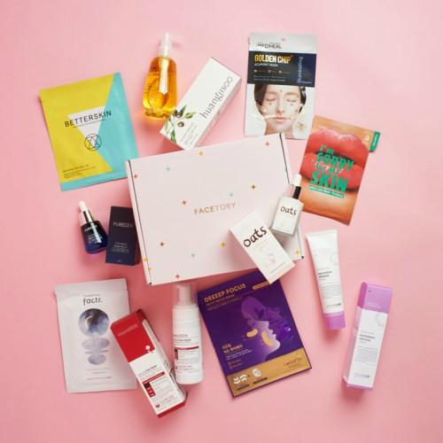 FaceTory Lux Plus Skin Care Subscription Box