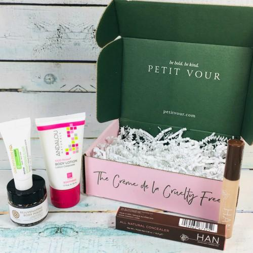 Petit Vour Skin Care Subscription Box